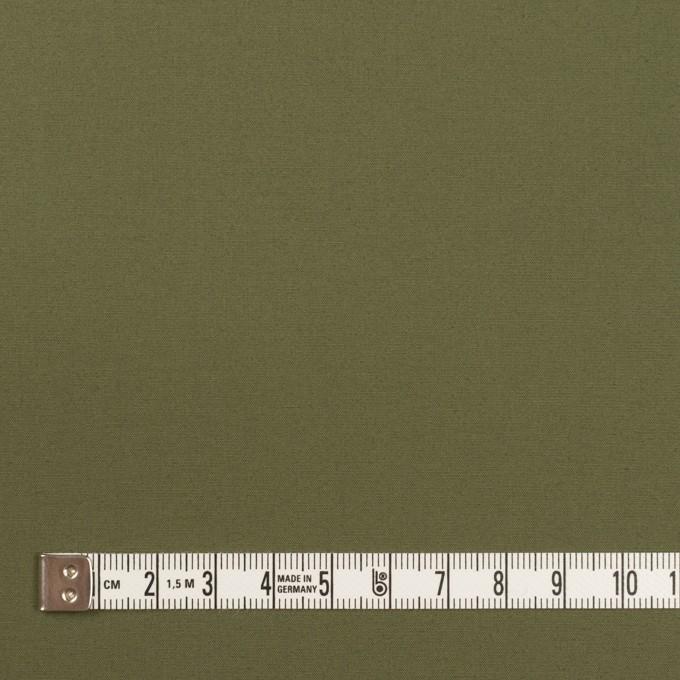 コットン&ポリウレタン×無地(カーキグリーン)×ブロードストレッチ_全2色 イメージ4