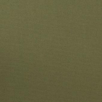 コットン&ポリウレタン×無地(カーキグリーン)×ブロードストレッチ_全2色