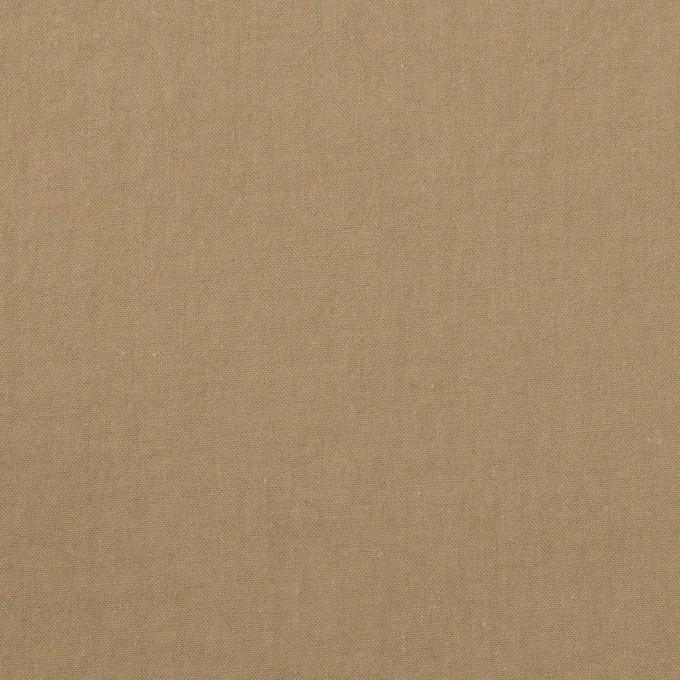 コットン×無地(カーキベージュ)×ブロードワッシャー_全2色 イメージ1
