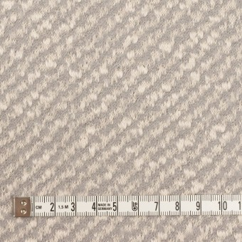 コットン&ウール×ミックス(ミルク&グレー)×ジャガードニット サムネイル4