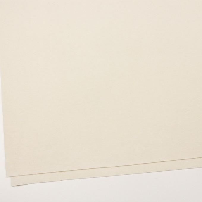 ウール×無地(クリーム)×圧縮ニット イメージ2