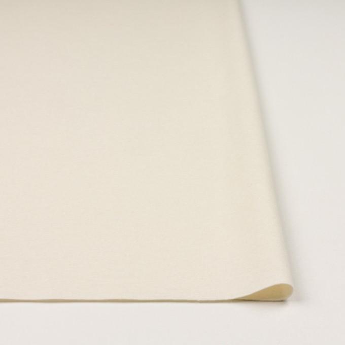 ウール×無地(クリーム)×圧縮ニット イメージ3