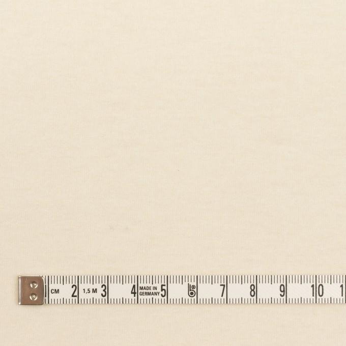 ウール×無地(クリーム)×圧縮ニット イメージ4