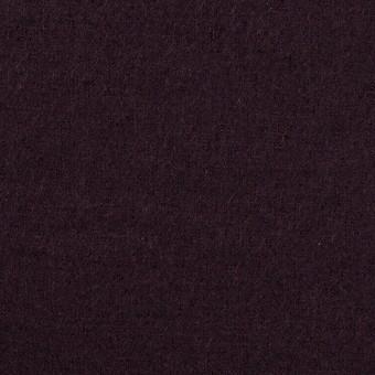 ウール×無地(レーズン)×圧縮ニット