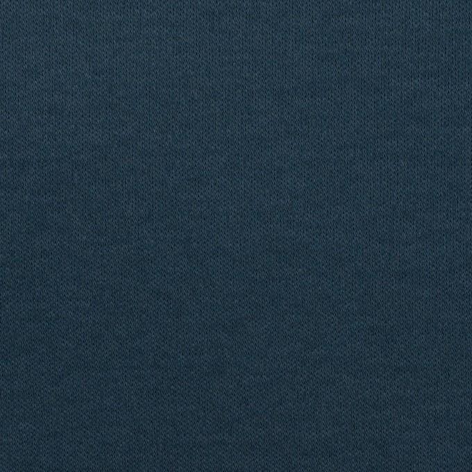 コットン×無地(アイアンネイビー)×スムースニット イメージ1