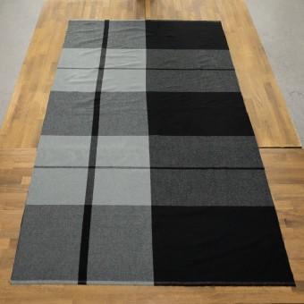 ポリエステル&アクリル混×チェック(スレートグレー&ブラック)×サージ_パネル_全2色 サムネイル6