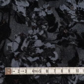 ポリエステル×フラワー(プルシアンブルー)×パワーネット・フロッキー_全2色 サムネイル4