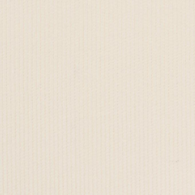コットン×無地(アイボリー)×中細コーデュロイ_全3色 イメージ1