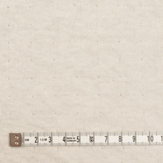 ウール&コットン×無地(アッシュブラウン)×W天竺ニット_全4色 イメージ6
