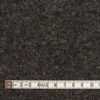ウール&コットン×無地(チャコール)×W天竺ニット_全4色 サムネイル4