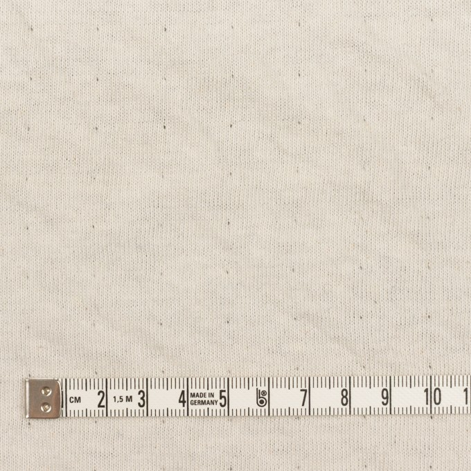 ウール&コットン×無地(チャコール)×W天竺ニット_全4色 イメージ6