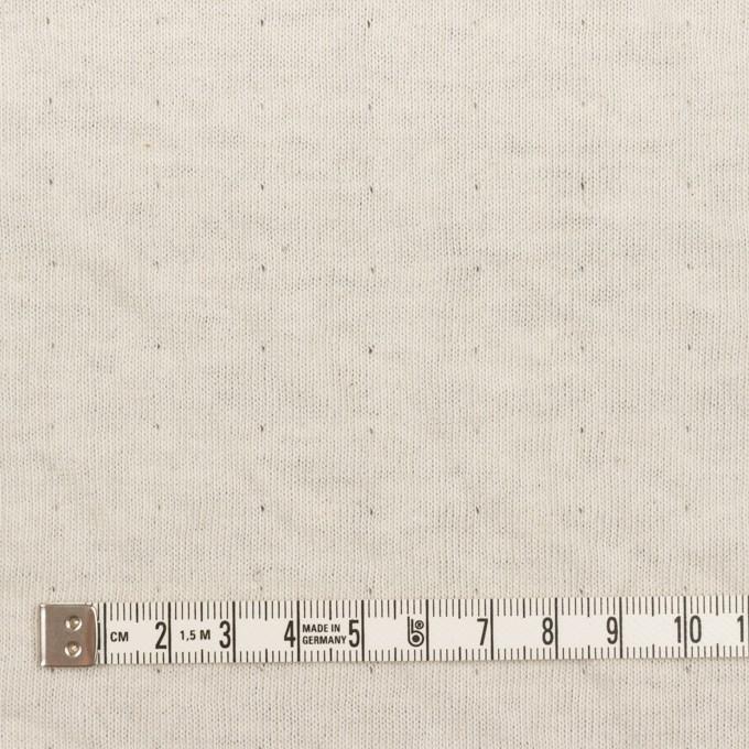 ウール&コットン×無地(ネイビー)×W天竺ニット_全4色 イメージ6