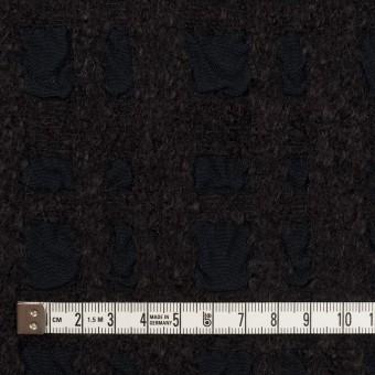 ウール&テンセル×チェック(ダークチャコール)×ジャガード サムネイル4