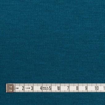 ウール&アクリル混×無地(ターコイズブルー)×Wニット サムネイル4