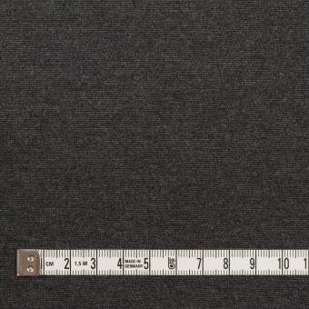 テンセル&ポリエステル混×無地(チャコールグレー)×Wニット サムネイル4