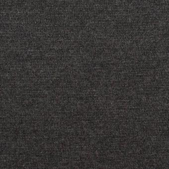 テンセル&ポリエステル混×無地(チャコールグレー)×Wニット