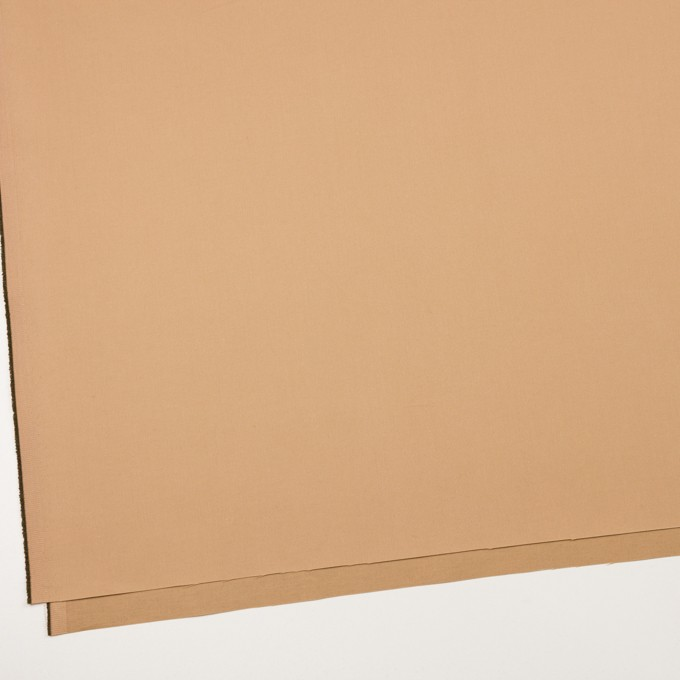 コットン&ポリエステル×無地(コルク)×二重織_イタリア製 イメージ2