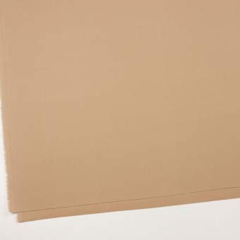 コットン&リヨセル混×無地(ベージュ)×二重織ストレッチ サムネイル2