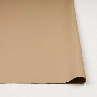 コットン&リヨセル混×無地(ベージュ)×二重織ストレッチ サムネイル3