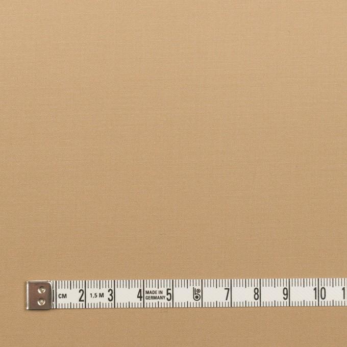 コットン&リヨセル混×無地(ベージュ)×二重織ストレッチ イメージ4