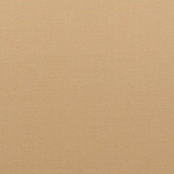 コットン&リヨセル混×無地(ベージュ)×二重織ストレッチ