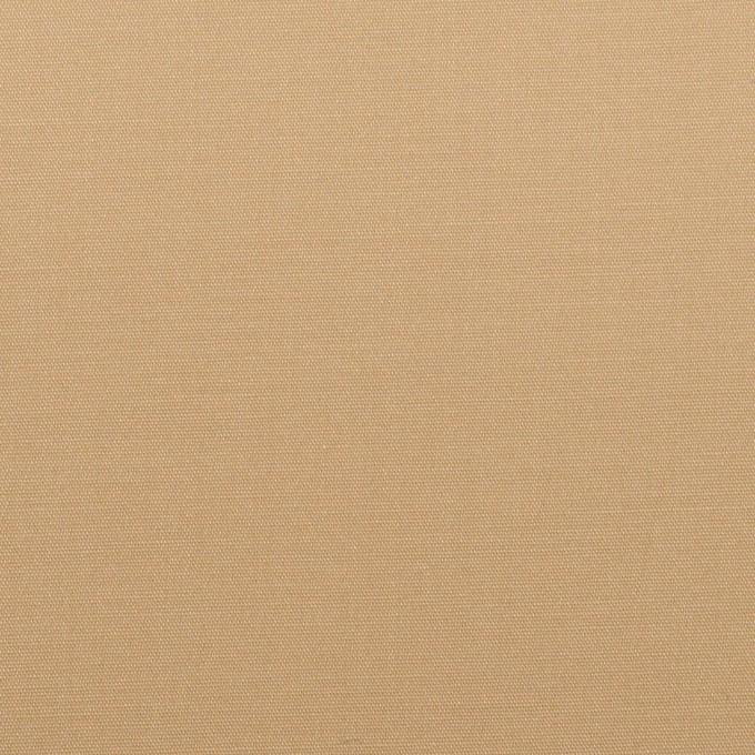 コットン&リヨセル混×無地(ベージュ)×二重織ストレッチ イメージ1
