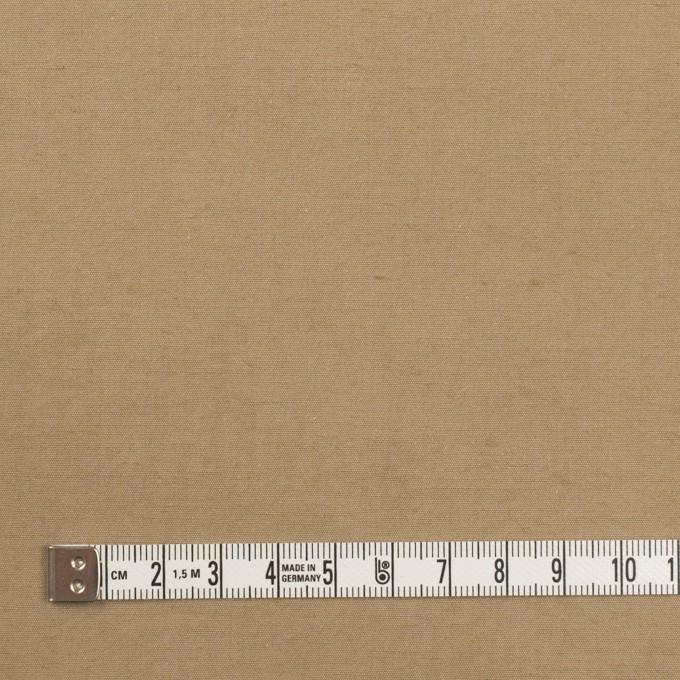 コットン&ヘンプ×無地(カーキベージュ)×ポプリン イメージ4