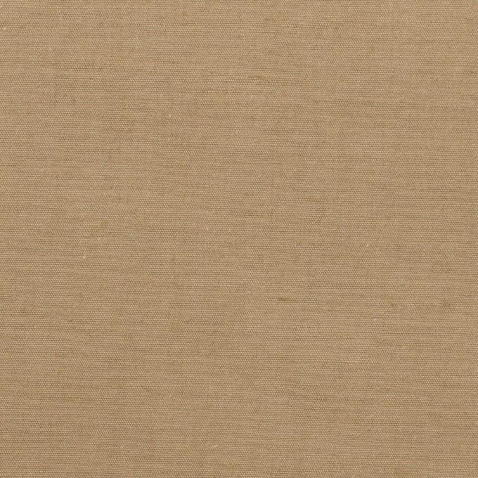 コットン&ヘンプ×無地(カーキベージュ)×ポプリン イメージ1