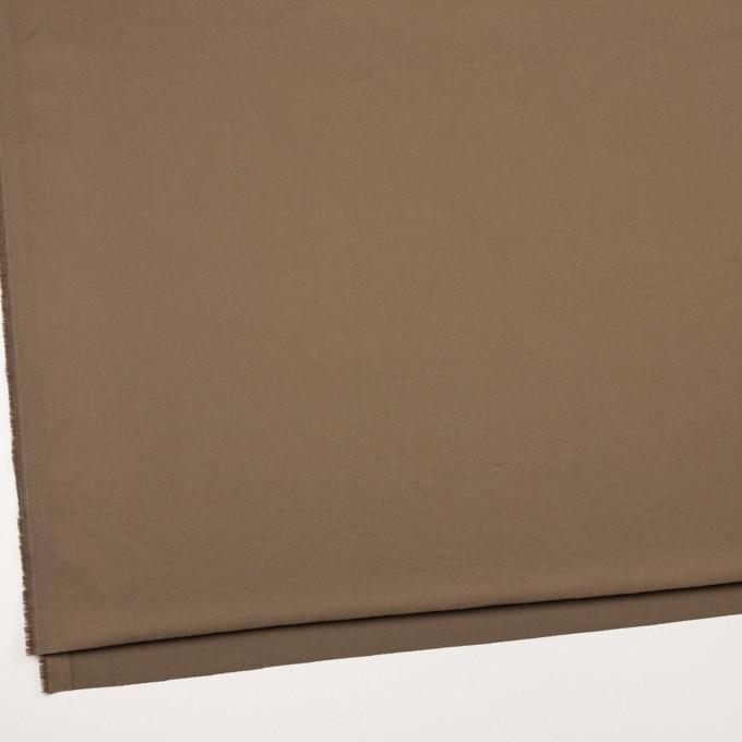 コットン&ポリウレタン×無地(コヨーテブラウン)×チノクロス・ストレッチ_イタリア製 イメージ2