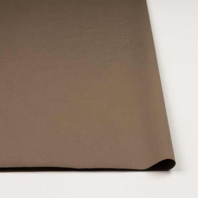 コットン&ポリウレタン×無地(コヨーテブラウン)×チノクロス・ストレッチ_イタリア製 イメージ3