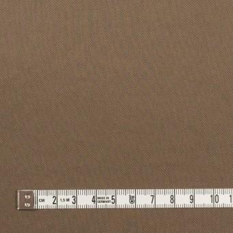 コットン&ポリウレタン×無地(コヨーテブラウン)×チノクロス・ストレッチ_イタリア製 サムネイル4