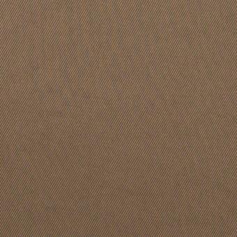 コットン&ポリウレタン×無地(コヨーテブラウン)×チノクロス・ストレッチ_イタリア製