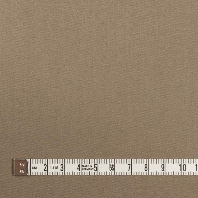 コットン&ポリウレタン×無地(アッシュカーキ)×サテンストレッチ イメージ4