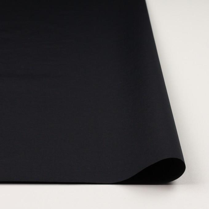 ナイロン×無地(ブラック)×タッサーポプリン_全2色 イメージ3