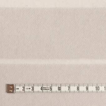 ウール&ポリエステル混×ボーダー(パールグレー)×ビーバー(Wフェイス) サムネイル4