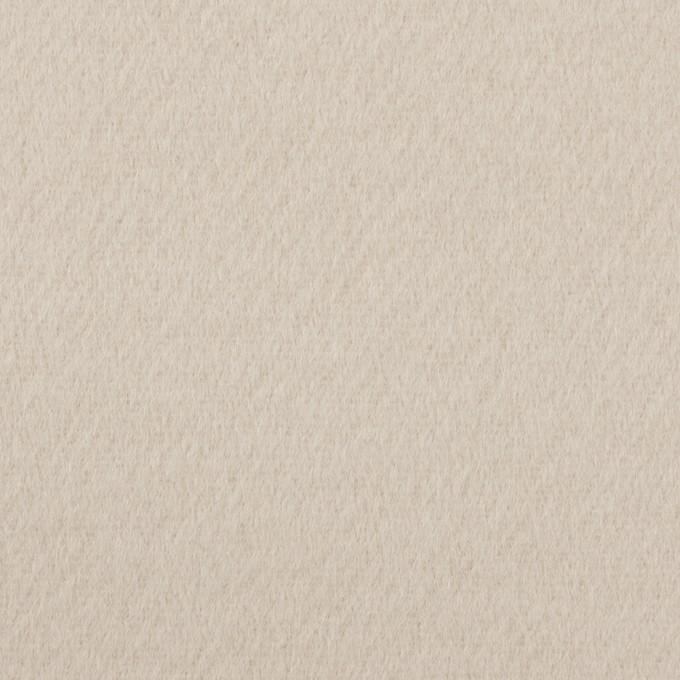 ウール×無地(オイスター)×ビーバー イメージ1