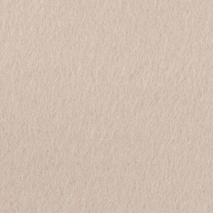 ウール×無地(グレイッシュベージュ)×ビーバー イメージ1