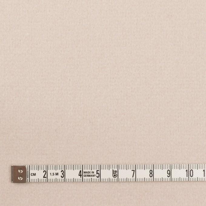 ウール×無地(エクリュ)×ソフトメルトン イメージ4