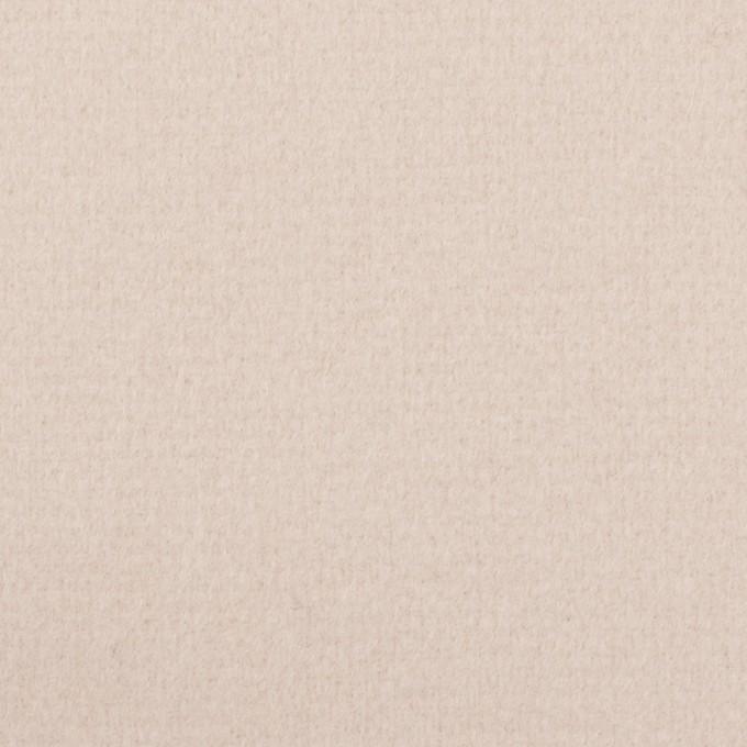 ウール×無地(エクリュ)×ソフトメルトン イメージ1