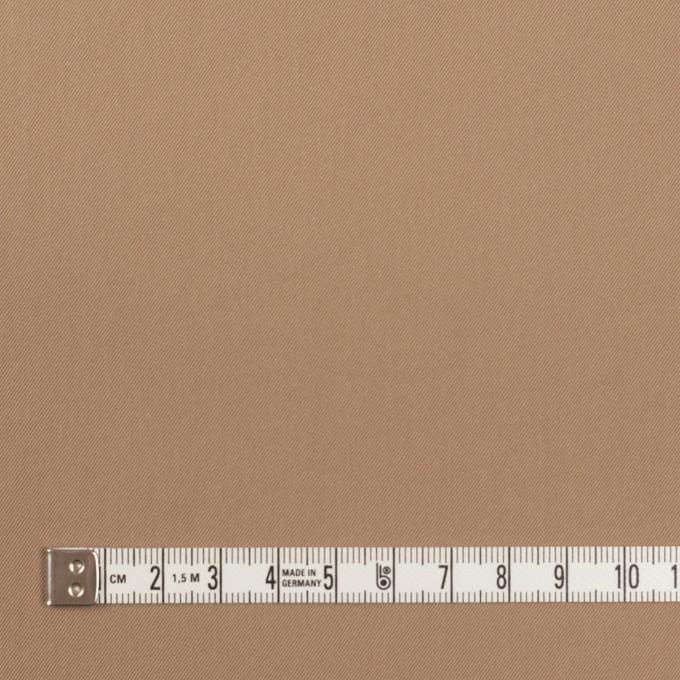 ナイロン&コットン混×無地(オークル)×サージストレッチ_全5色 イメージ4