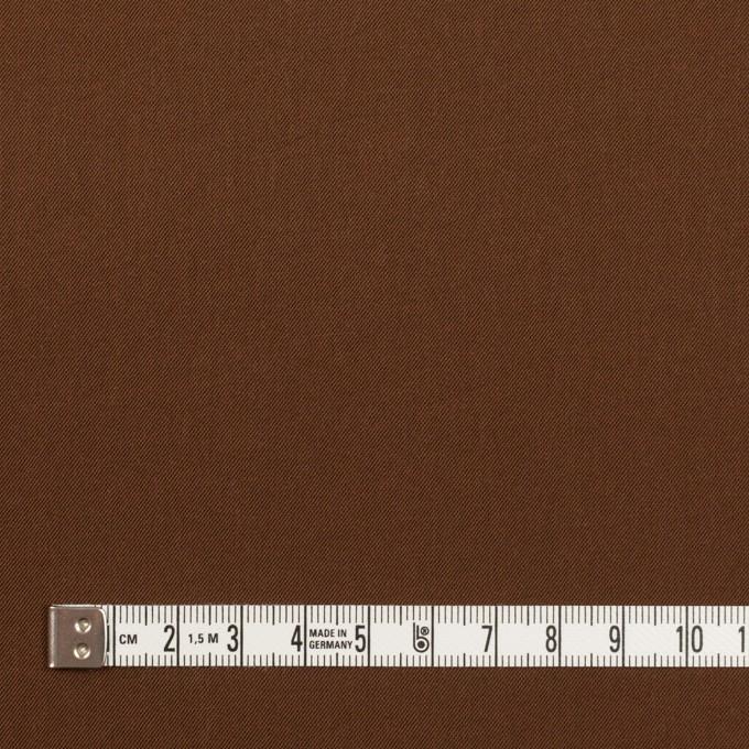 ナイロン&コットン混×無地(アーモンド)×サージストレッチ_全5色 イメージ4