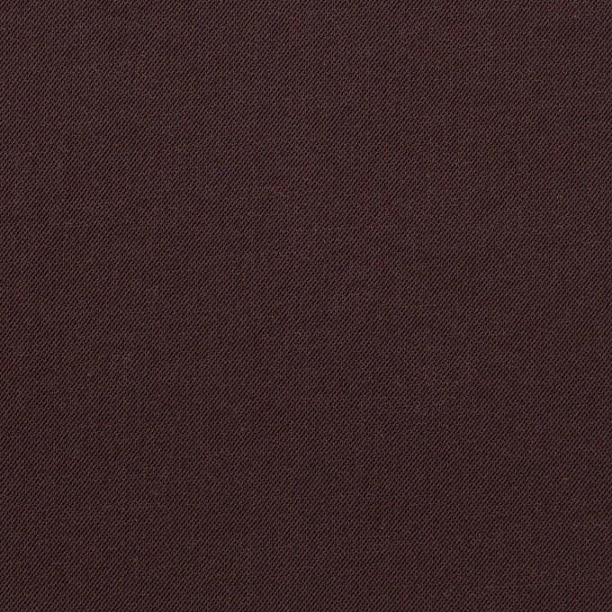 ナイロン&コットン混×無地(レーズン)×サージストレッチ_全5色 イメージ1