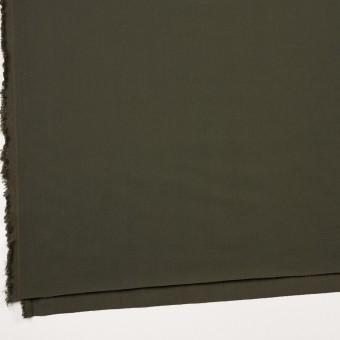 ナイロン&コットン混×無地(カーキグリーン)×サージストレッチ_全5色 サムネイル2