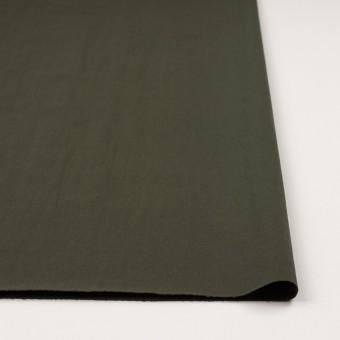 ナイロン&コットン混×無地(カーキグリーン)×サージストレッチ_全5色 サムネイル3