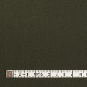 ナイロン&コットン混×無地(カーキグリーン)×サージストレッチ_全5色 サムネイル4