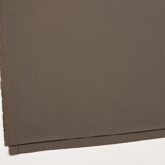 ナイロン&コットン混×無地(ダークカーキ)×サージストレッチ_全5色 イメージ2
