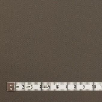 ナイロン&コットン混×無地(ダークカーキ)×サージストレッチ_全5色 サムネイル4