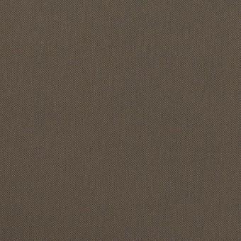 ナイロン&コットン混×無地(ダークカーキ)×サージストレッチ_全5色