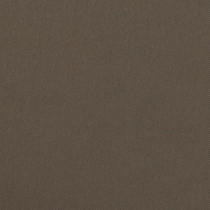 ナイロン&コットン混×無地(ダークカーキ)×サージストレッチ_全5色 イメージ1