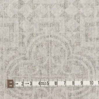 ウール×幾何学模様(ライトグレー)×ツイードフロッキー サムネイル4